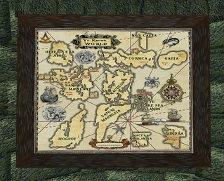 Map Ye Known World at Union Passage