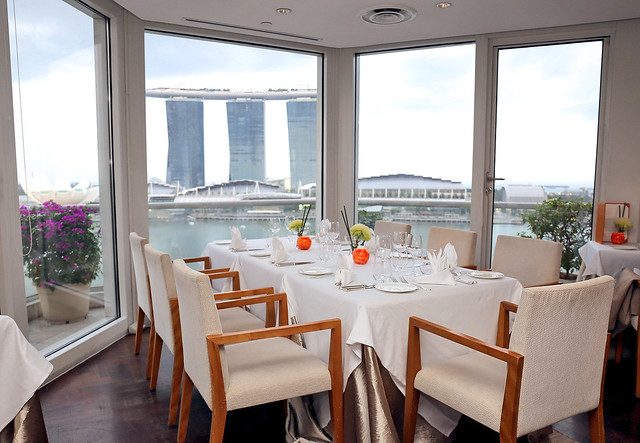 Lighthouse gives you panoramic views of the Marina Bay