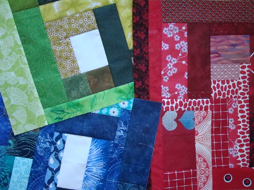 "testblock Jan- Sunday morning Quilts "" the missing U """