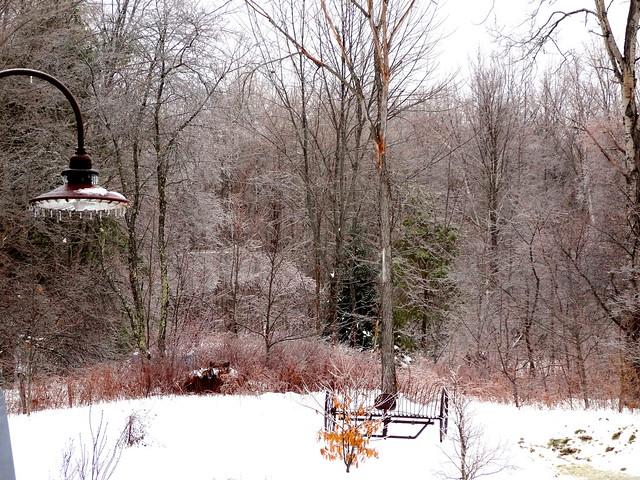 icy farm