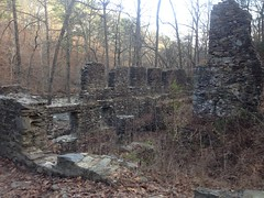 Sope Creek Pulp Mill Ruins