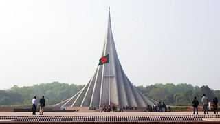 Image of Bangladesh National Monument. monument dhaka bangladesh nationalmonument bangladeshflag jatiyosmritisoudho nationalmartyrsmonument jatiyosritishoudho colorsofbangladesh