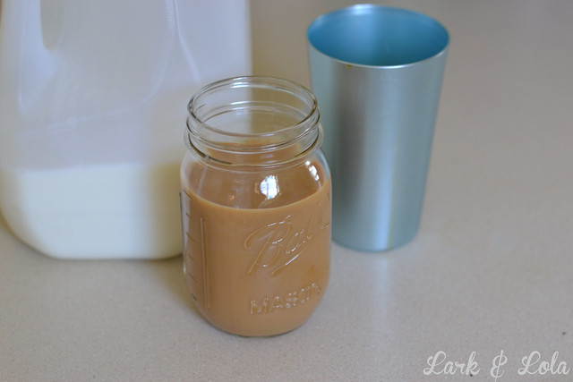 Homemade Iced Mocha