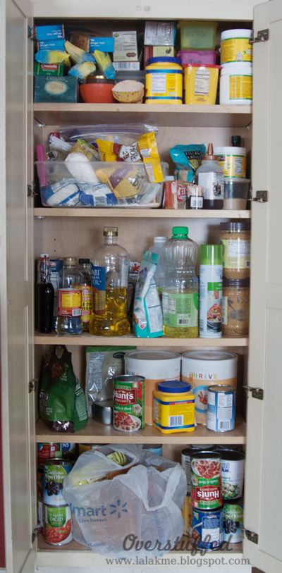 Organize your pantry in one afternoon BEFORE