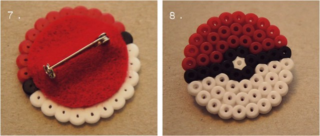 diy pokeball brooch 5