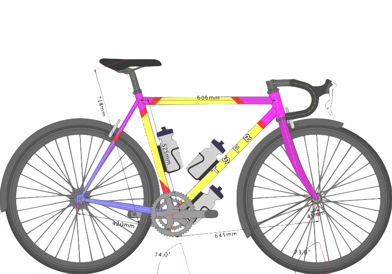 TSFR bicycle (TAF edition)