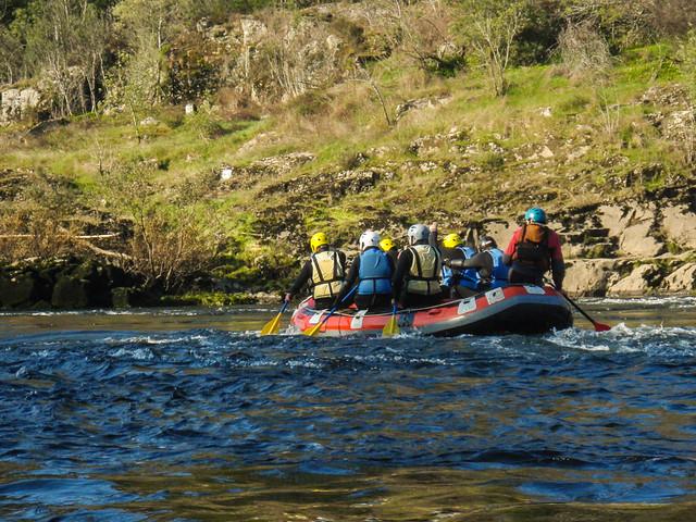 Rafting por el Río Miño