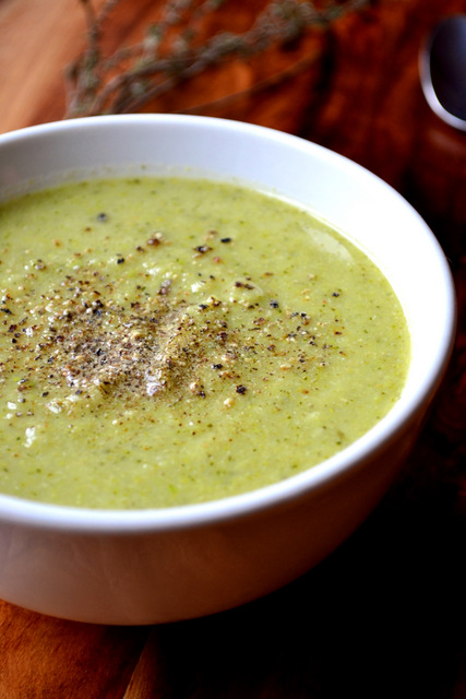 Broccoli and Pea Soup Recipe (3)