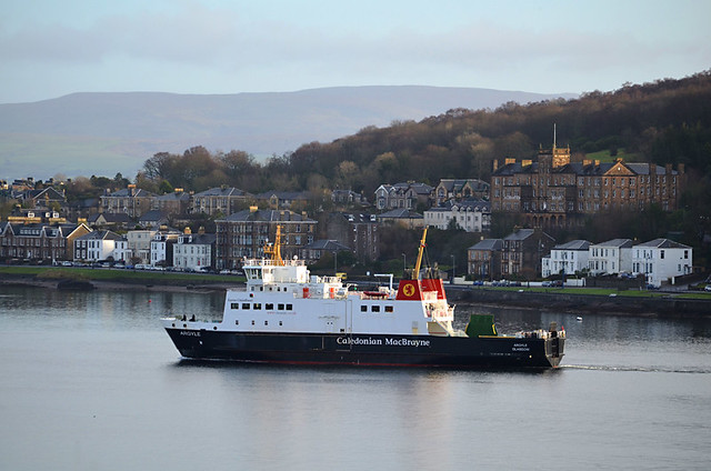 Ferry, Rothesay, Isle of Bute, Scotland