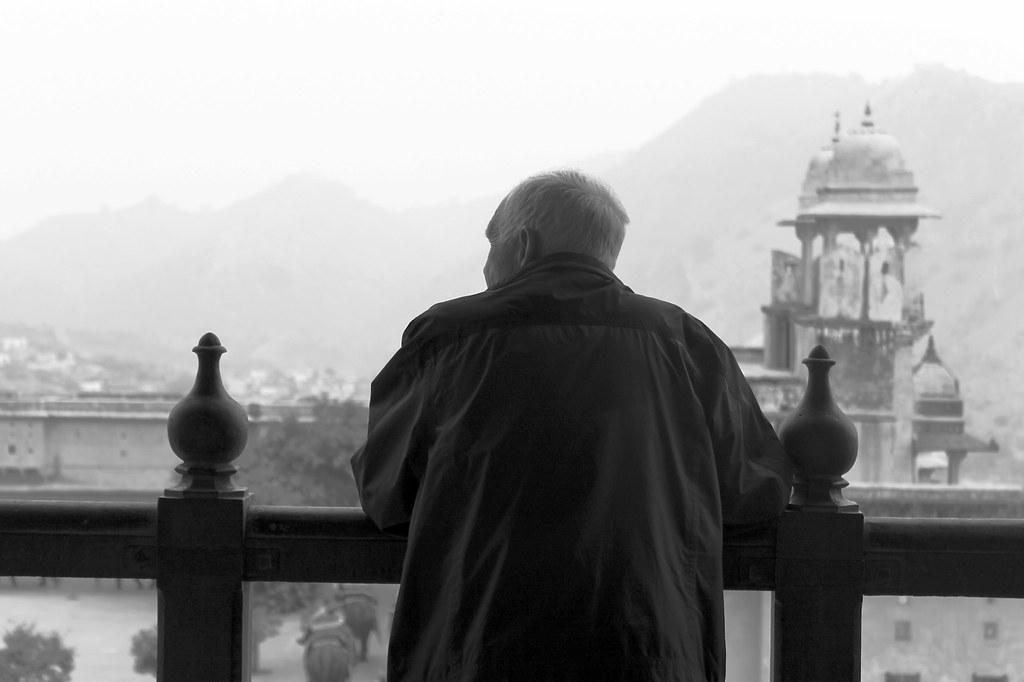 Old man - Jaipur