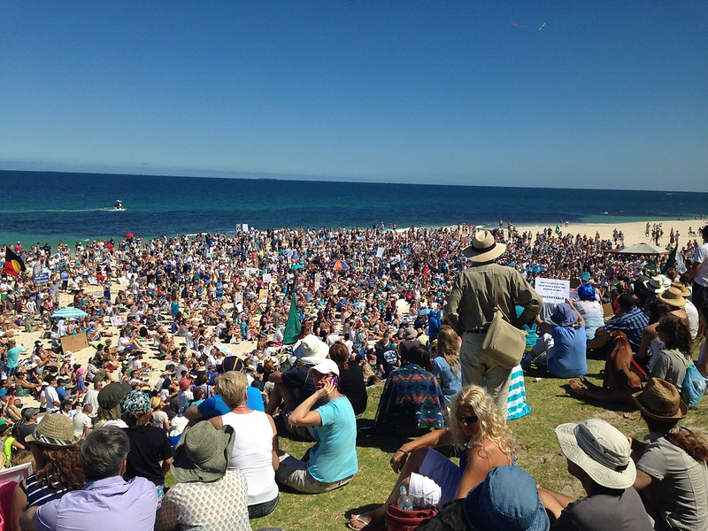 Cottesloe Protest