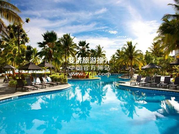 斐济索菲特水疗度假村(Sofitel Fiji Resort & Spa)游泳池