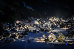 Shirakawago Light Up 2014