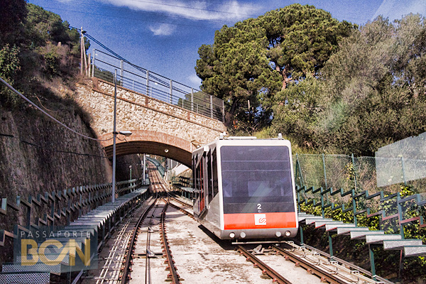 funicular de Vallvidrera, Barcelona