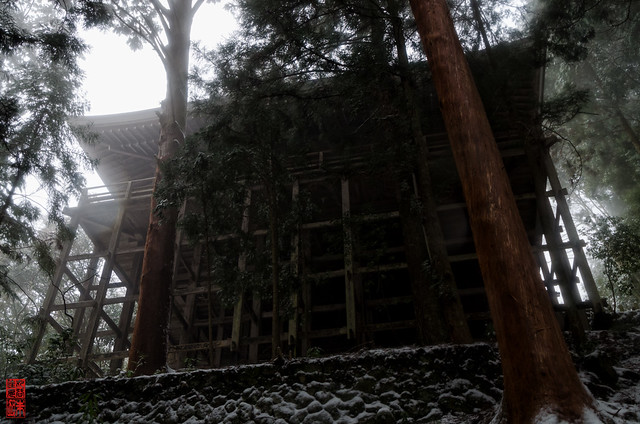 「常燈堂瞻仰之図」 室生寺 - 奈良