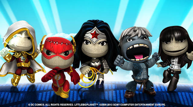 LittleBigPlanet Update: DC Comics Costume Pack 4 out this
