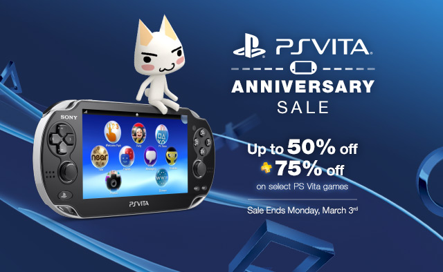 PS Vita Anniversary Sale