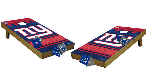 New York Giants Premium Cornhole Boards
