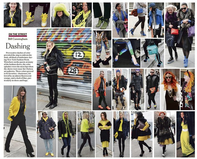 BILL CUNNINGHAM for The Cut / New York Mag / source images