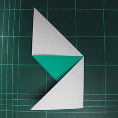การพับกระดาษเป็นรูปเรือมังกร (Origami Dragon Boat) 008