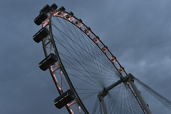 Singapore Flyer, early morning