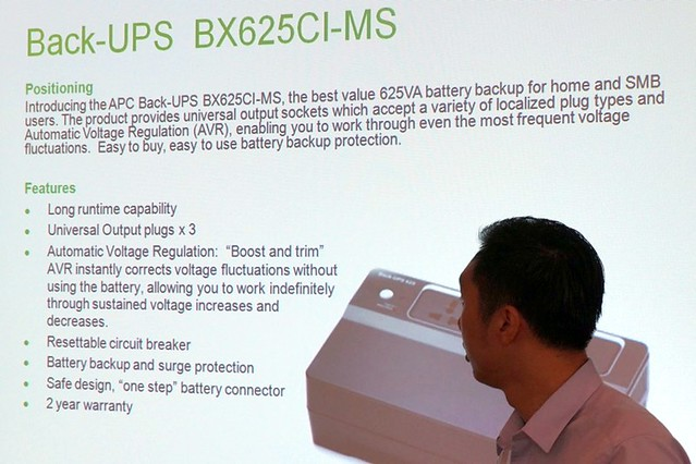 Schneider Electric Back-UPS Launch - back up power for SOHO-003