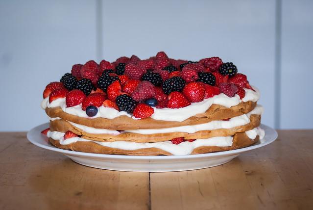 Choux Pastry Cake Recipe