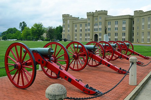 Virginia Military  Institute ... Four Gospels in Color, Lexington, Virginia USA