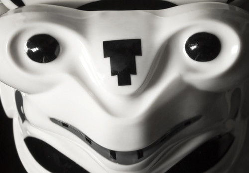 Upside Down LEGO Stormtrooper Face