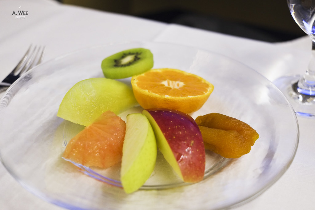 Selection of fresh seasonal fruit