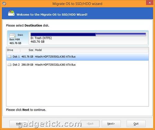 Миграция системы на HDD / SSD