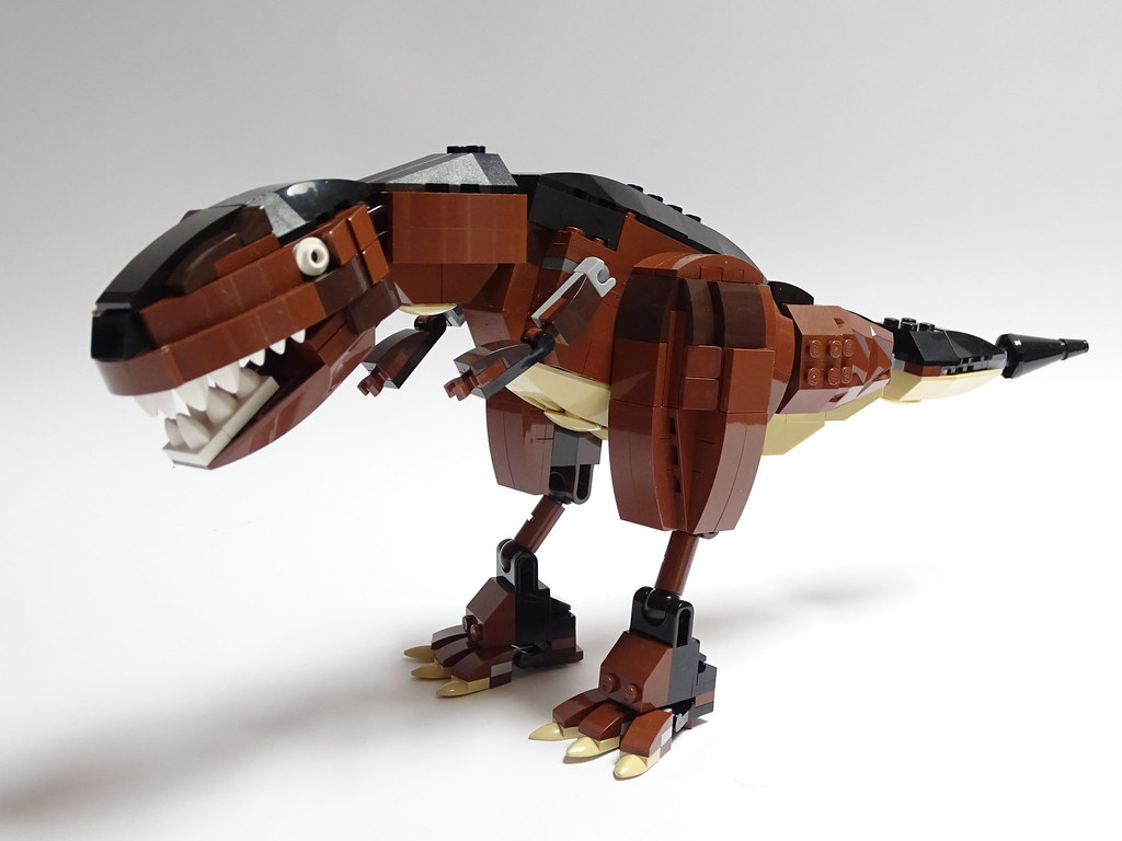 T. rex (custom built Lego model)