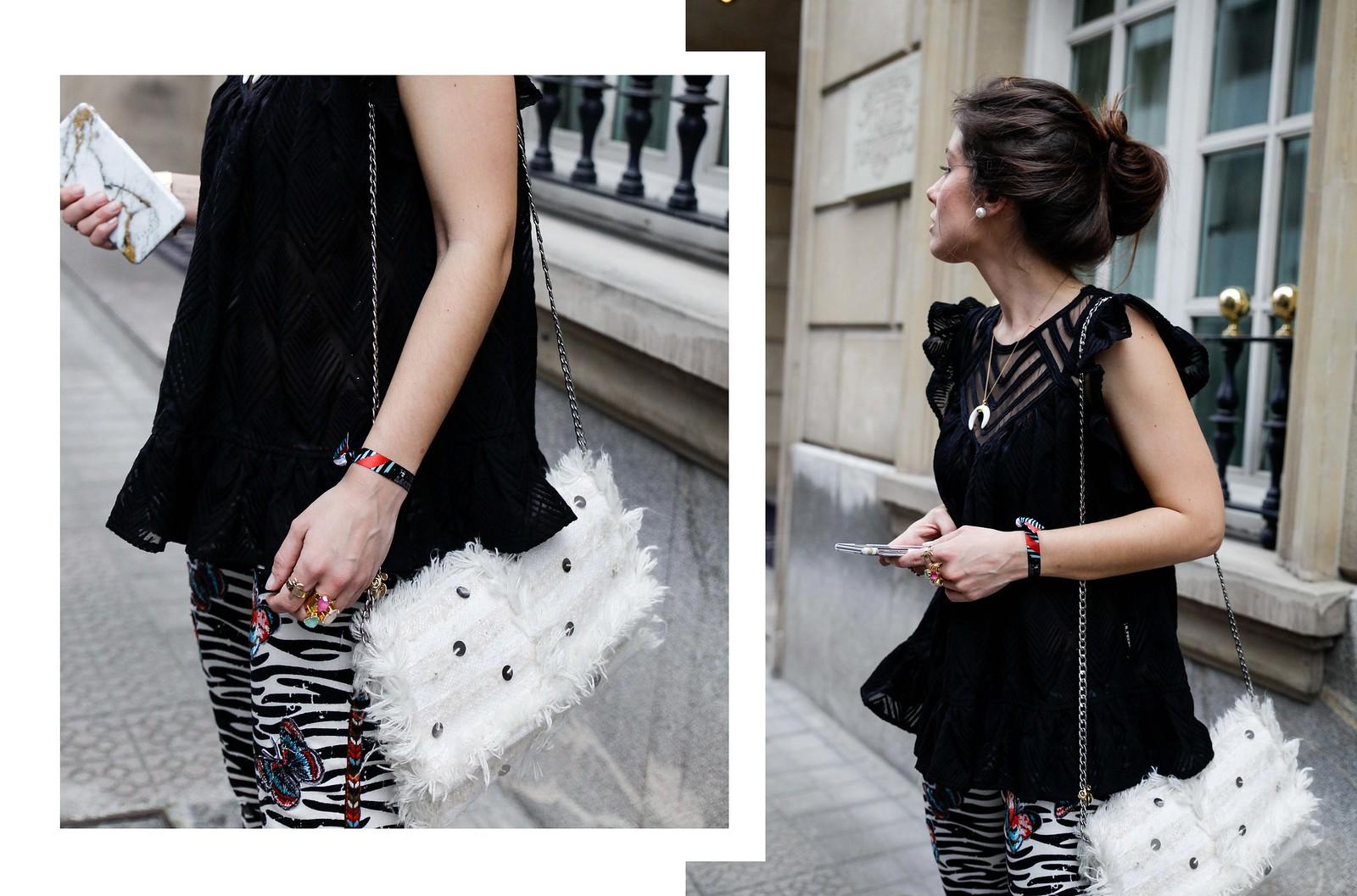 014_Pantalones_Zebra_Blusa_Boho_tacones_rosas_stradivarius_Theguestgirl_outfit_barcelona_streetstyle
