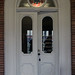 Doorway, Abram Fisk House — Coldwater Township, Branch County, Michigan