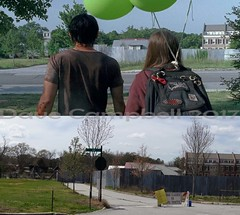 The Walking dead then and now.