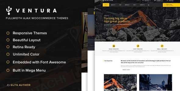 Ventura WordPress Theme free download