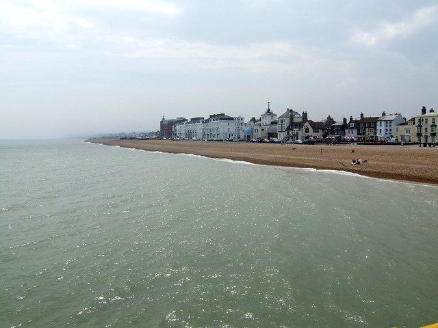 Deal viewed from the pier