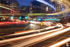 Light trails by #londonbridge