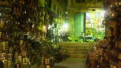 Lamps and lanterns sold in Khan El-Khalili