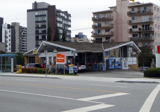 Vintage Gas Station, Panasonic DMC-ZS40
