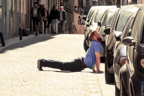 Yoga Improv (Streets, Madrid, Spain)