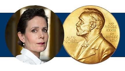 Duke alumna Sara Danius, permanent secretary of the Swedish Academy which awards the Nobel Prize, will be speaking at the @nashermuseum TOMORROW, April 5th at 5pm on how to win the Nobel Prize in literature!