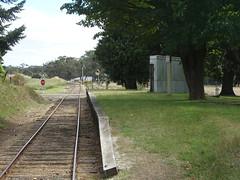 Musk. The old railway station half way between Daylesford and Bullarto.
