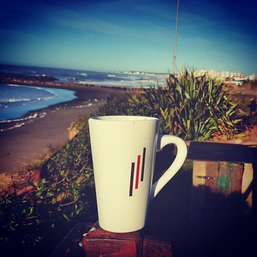 - Cafe al Mar - #BuenDia #Arrancando #Mar #GoodTimes #GoodMorning #Sea