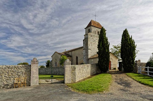 Gironde: Environs de Bordeaux - Eglise de Cameyrac