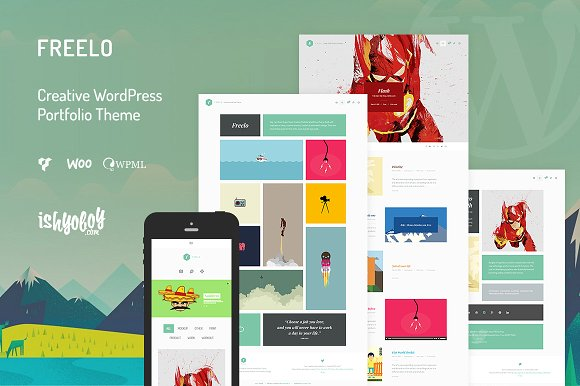 Freelo v1.4 - Creative WordPress Theme