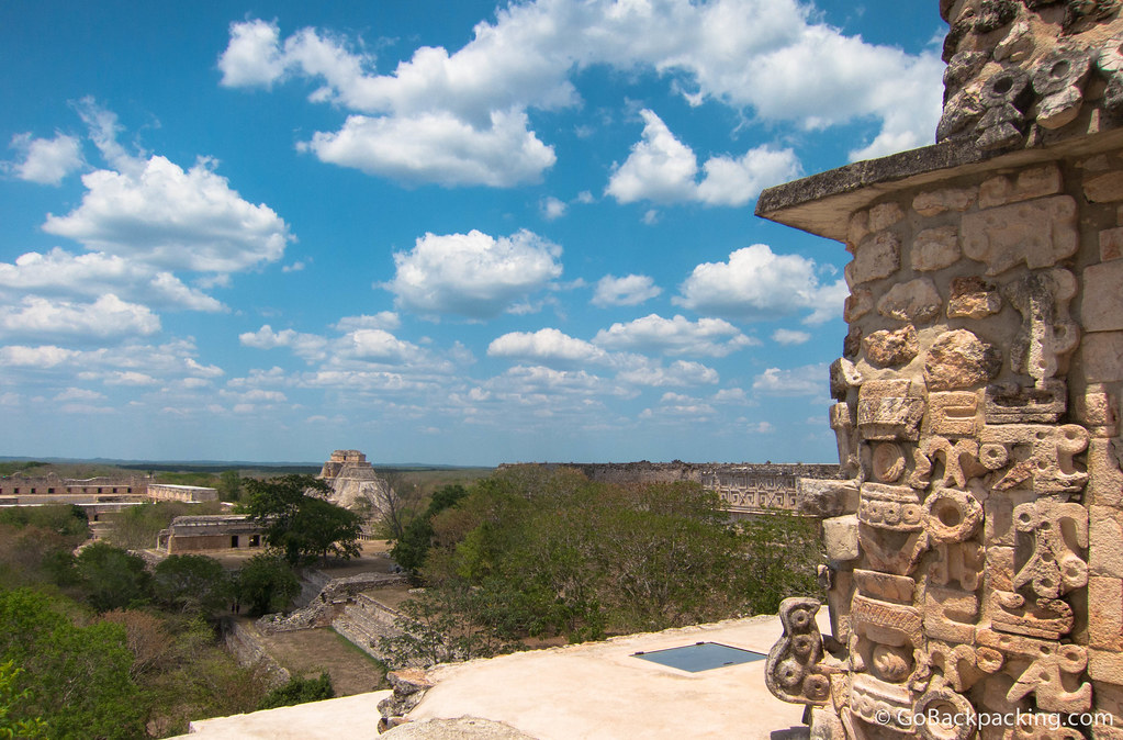 View from atop the Great Temple on a beautiful day