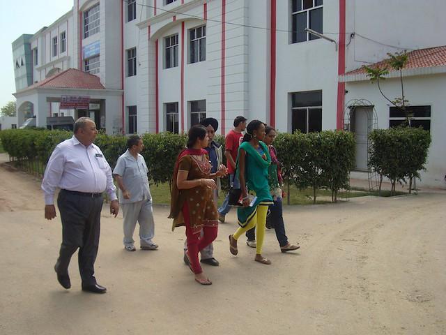 Nadia Ntahu in India (2)