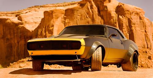 130529 - 3D立體續集電影《變形金剛 第4集》在「紀念碑谷」正式開拍、全新『柯博文』挾2輛新車出場!【31日更新】 4 FINAL