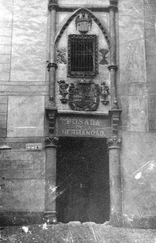 Posada de la Hermandad en 1935. Fotografía Josep Gaspar i Serra © Arxiu Nacional de Catalunya. Signatura ANC1-23-N-1574